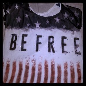 "Maurices XL ""Be Free"" shirt"